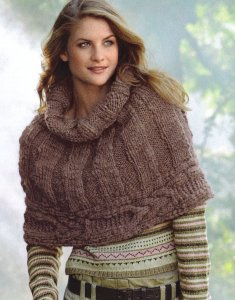 Bergere de France Naturelle Shrug Kit - Women's Accessories