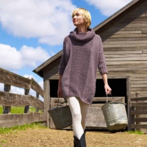 Imperial Yarn Patterns - Essential Sweater Dress Pattern