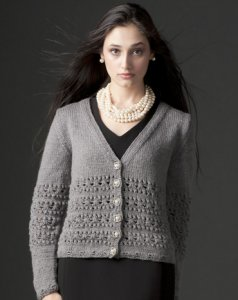 SMC Select Silk Wool Holiday Cardigan Kit - Women's Cardigans
