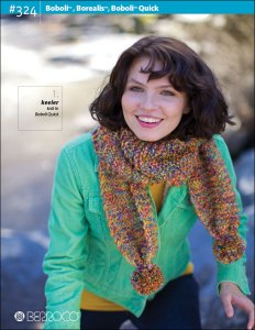 Berroco Pattern Books - 324 - Boboli, Borealis, and Boboli Quick
