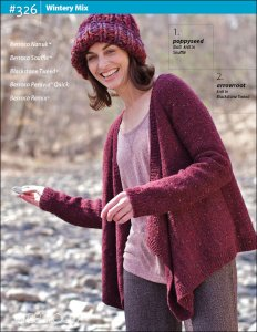 Berroco Pattern Books - 326 - Wintry Mix