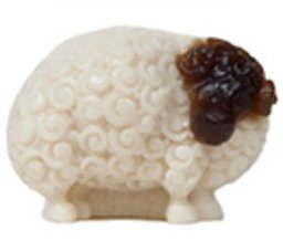 Debra's Garden Sheep Soap - Vanilla Bean