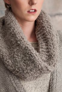 Rowan British Sheep Breeds Boucle Cowl Kit - Scarf and Shawls