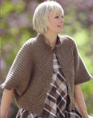 Cascade 220 Heathers Windmolen Jacket Kit - Women's Cardigans