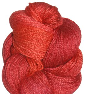 Lorna's Laces Sportmate Yarn - '12 June - Stitch Red