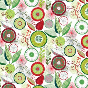 Valori Wells Wrenly Christmas Fabric - Ingrid - Pine