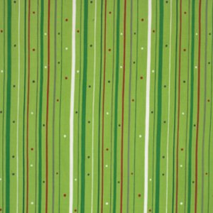 Valori Wells Wrenly Christmas Fabric - Boho Stripe - Pine