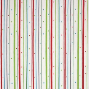 Valori Wells Wrenly Christmas Fabric - Boho Stripe - Snow