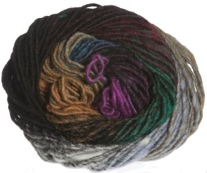 Noro Kureyon Yarn - 301 Black/Grey/Green