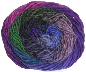 Noro Kureyon Yarn - 307 Royal/Pink/Red (Discontinued)
