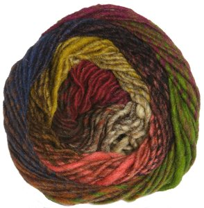 Noro Kureyon Yarn - 314 Brown/Burgundy (Discontinued)
