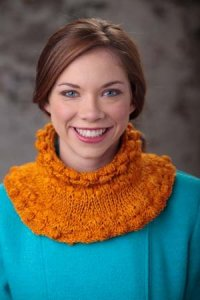 Madelinetosh Tosh Merino DK Persimmon Cowl Kit - Crochet for Adults