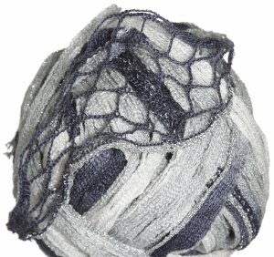 Euro Yarns Broadway Yarn - 01 White, Silver, Grey