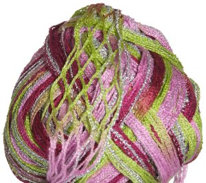 Euro Yarns Broadway Yarn - 06 Lime, Pink, Rose