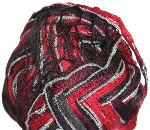 Euro Yarns Broadway Yarn - 07 Red, Burgundy, Black