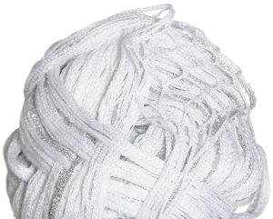 Euro Yarns Broadway Yarn - 09 White with Silver