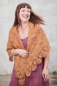 Madelinetosh Tosh Sock Maxine Shawl Kit - Crochet for Adults
