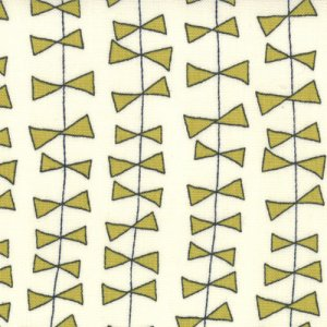 Sweetwater Lucy's Crab Shack Fabric - Kite Ties - Cream Green (5481 13)