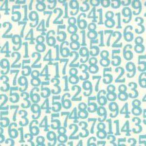 Sweetwater Lucy's Crab Shack Fabric - Number Games - Ocean (5482 12)