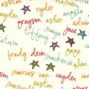 Sweetwater Lucy's Crab Shack Fabric - Surf Club - Cream Multi (5485 11)