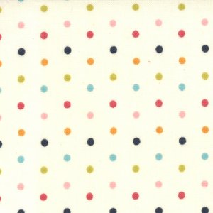 Sweetwater Lucy's Crab Shack Fabric - Flip Flop - Cream Multi (5486 11)