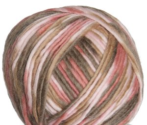Crystal Palace Iceland Print Yarn - 2119 Rose Musk
