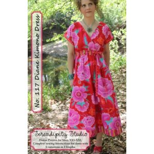 Serendipity Studio Sewing Patterns - Diane Kimono Dress Pattern