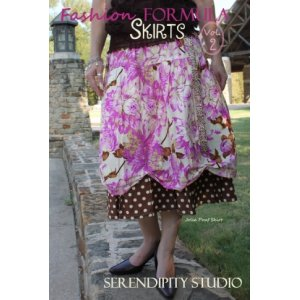 Serendipity Studio Sewing Patterns - Fashion Formula Skirts Booklet 2 Pattern