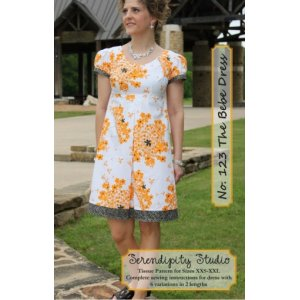 Serendipity Studio Sewing Patterns - Bebe Dress Pattern