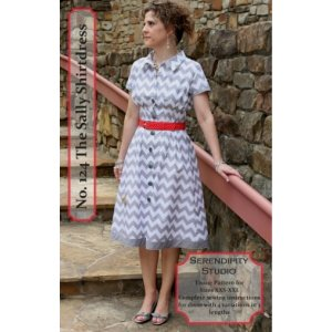 Serendipity Studio Sewing Patterns - Sally Shirtdress Pattern