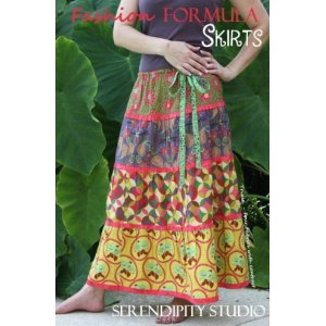 Serendipity Studio Sewing Patterns - Fashion Formula Skirts Booklet Pattern