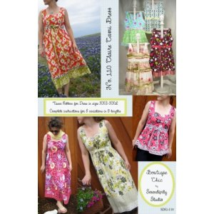 Serendipity Studio Sewing Patterns - Claire Cami Dress Pattern