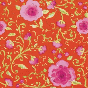 Dena Designs Pretty Little Things Fabric - Sophia - Orange