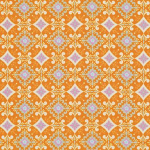 Dena Designs Pretty Little Things Fabric - Gracie - Orange