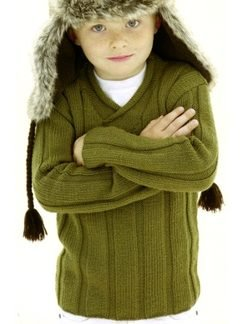 Sublime Extrafine Merino Wool DK Dizzy the Rascal Pullover Kit - Baby and Kids Pullovers