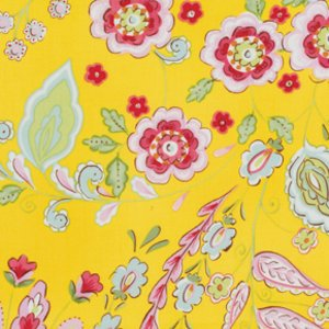 Dena Designs Pretty Little Things Fabric - Emma - Yellow