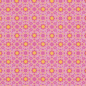 Dena Designs Pretty Little Things Fabric - Daisy - Pink