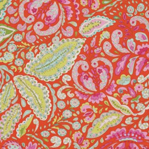 Dena Designs Pretty Little Things Fabric - Jocelyn - Orange