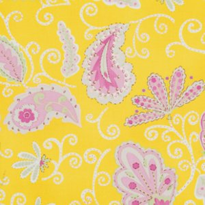 Dena Designs Pretty Little Things Fabric - Madeleine - Yellow
