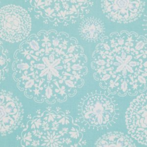 Dena Designs Pretty Little Things Fabric - Jada - Aqua