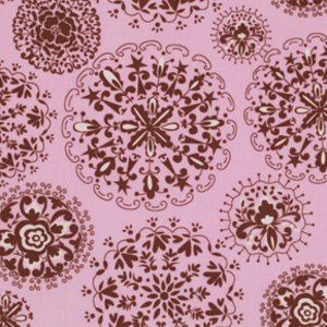 Dena Designs Pretty Little Things Fabric - Jada - Brown