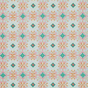 Dena Designs Pretty Little Things Fabric - Gracie - Blue