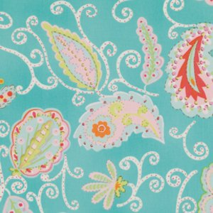 Dena Designs Pretty Little Things Fabric - Madeleine - Teal