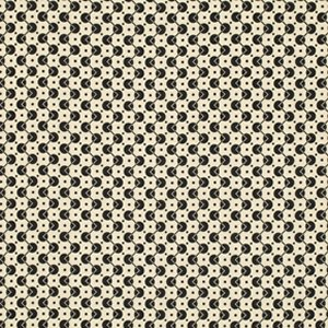 Denyse Schmidt Chicopee Fabric - Voltage Dot - Black
