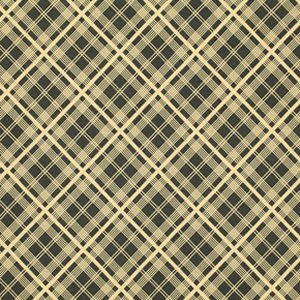 Denyse Schmidt Chicopee Fabric - Simple Plaid - Black