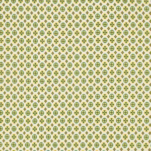 Denyse Schmidt Chicopee Fabric - Circle Cross - Green