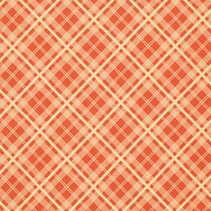 Denyse Schmidt Chicopee Fabric - Simple Plaid - Red