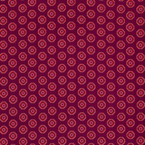Denyse Schmidt Chicopee Fabric - Ziggy Medallion - Red