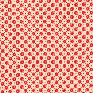 Denyse Schmidt Chicopee Fabric - Voltage Dot - Red