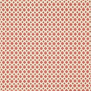 Denyse Schmidt Chicopee Fabric - Circle Cross - Red